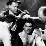 Murder in Soho - Freddie Mills on set of Emergency Call
